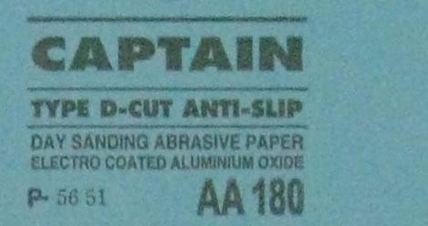 Quy cách giấy nhám khô