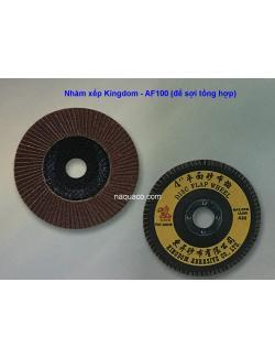 Nhám xếp Kingdom AF 100 (đế sợi  tổng hợp)